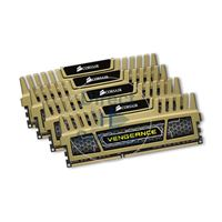 Corsair CMZ16GX3M4X1600C9G - 16GB 4x4GB DDR3 PC3-12800 Non-ECC Unbuffered 240-Pins Memory