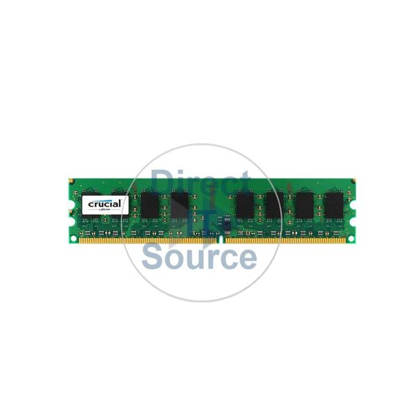 Crucial CT12864AA53E.16FD - 1GB DDR2 PC2-4200 240-Pins Memory