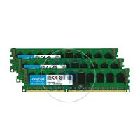 Crucial CT3K4G3ERSLS4160B - 12GB 3x4GB DDR3 PC3-12800 ECC Registered Memory