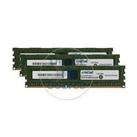 Crucial CT3KIT51272BA1067 - 12GB 3x4GB DDR3 PC3-8500 ECC Unbuffered 240-Pins Memory