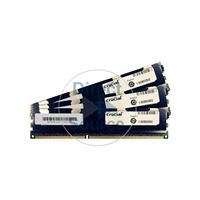 Crucial CT3KIT51272BQ1067Q - 12GB 3x4GB DDR3 PC3-8500 ECC Registered 240-Pins Memory