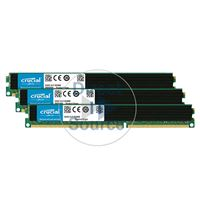 Crucial CT3KIT51272BW1339 - 12GB 3x4GB DDR3 PC3-10600 ECC Registered Memory