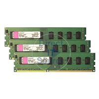 Kingston KVR1066D3N7K3/6G - 6GB 3x2GB DDR3 PC3-8500 NON-ECC UNBUFFERED 240-Pins Memory