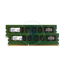 Kingston KVR13N9S8HK2/8 - 8GB 2x4GB DDR3 PC3-10600 NON-ECC UNBUFFERED 240-Pins Memory