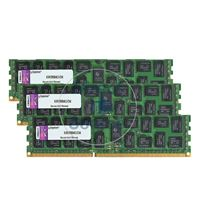 Kingston KVR13R9D4K3/24I - 24GB 3x8GB DDR3 PC3-10600 ECC Registered 240Pins Memory