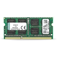 Kingston KVR16S11-8G - 8GB DDR3 PC-12800 SODIMM 204-Pin Memory