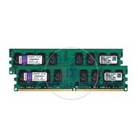 Kingston KVR800D2N6K2/4G - 4GB 2x2GB DDR2 PC2-6400 NON-ECC UNBUFFERED 240-Pins Memory