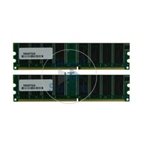 Apple M9297G/A - 1GB 2x512MB DDR PC-3200 184-Pins Memory