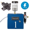 Accu-Lube, 01A1-CIR, Applicator, 1 Pump Boxed, Electric solenoid on/off control (110 VAC) & C-Nozzle (#9878) for circular sawing