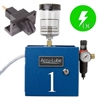 Accu-Lube, 01A3-CIR, Applicator, 1 Pump Boxed, Electric solenoid on/off control (24 VDC) & C-Nozzle (#9878) for circular sawing
