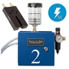 Accu-Lube, 02A1-RLZ, Applicator, 2 Pump Boxed, Electric solenoid on/off control (110VAC) &  RL-Nozzle (#9877) for band sawing