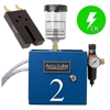 Accu-Lube, 02A3-RLZ, Applicator, 2 Pump Boxed, Electric solenoid on/off control (24VDC) &  RL-Nozzle (#9877) for band sawing
