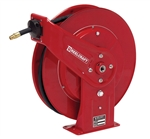 "Buy Reelcraft Spring Retractable Fuel Reel, 3/4"" x 25, with and without hose Online"