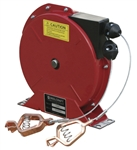"Buy Reelcraft Spring Retractable Grounding Reels, 50"", 100 AMP, Dual Clamps Online"