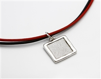 Digits of Pi Double Strand Leather Necklace