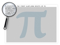 The Six Million Pi Digits Poster