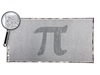 The One Million Digits of Pi Scroll - Optional Magnifier - 24.5 x 12.5 Inches