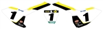Official Team Graphic Kit Number Plate Backgrounds