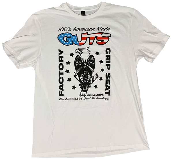 GUTS Eagle Tee white