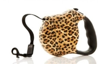 nandog retractable leopard dog leash