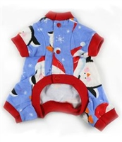 toni mari fleece penguin dog pajamas