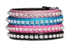 beau nouveau bling crystal dog collar