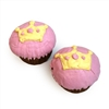 pink princess cupcakes for dogs