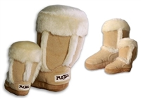 puggs boot dog toy