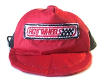 red hot wheels dog hat