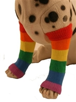 pride pet leg warmers