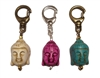 buddha head dog collar charm