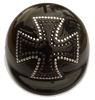 iron cross dog helmet