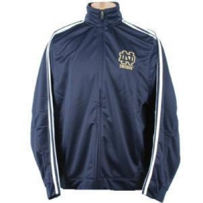 notre dame adidas classic track jacket. Black Bedroom Furniture Sets. Home Design Ideas