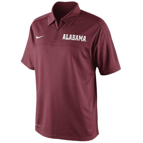 Nike alabama crimson tide conference polo shirt for Alabama crimson tide polo shirts