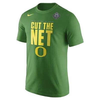 innovative design c732b e97ea Nike Oregon Ducks Final Four Cut the Net T-Shirt ...