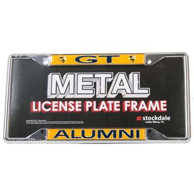Georgia Tech Yellow Jackets Alumni Metal License Plate