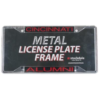 Cincinnati Bearcats Metal Alumni Inlaid Acrylic License