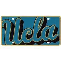 ucla bruins full color mega inlay license plate