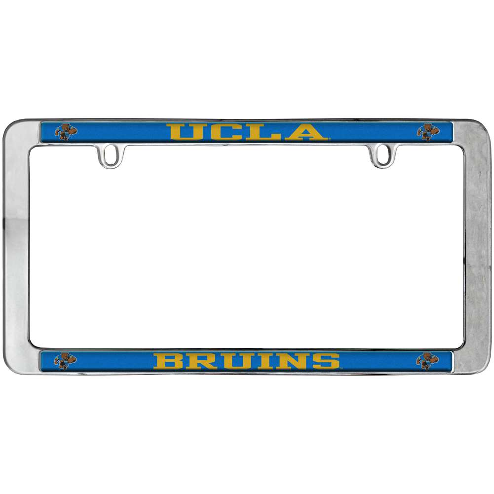 ucla bruins thin metal license plate frame