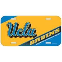 ucla license plate ucla plastic license plate frame