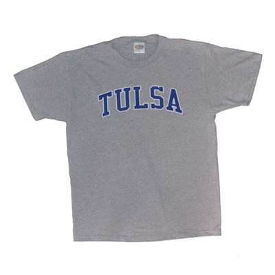 tulsa t shirt heather with arch print