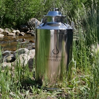 13 Gallon Stainless Milk Can Kettle