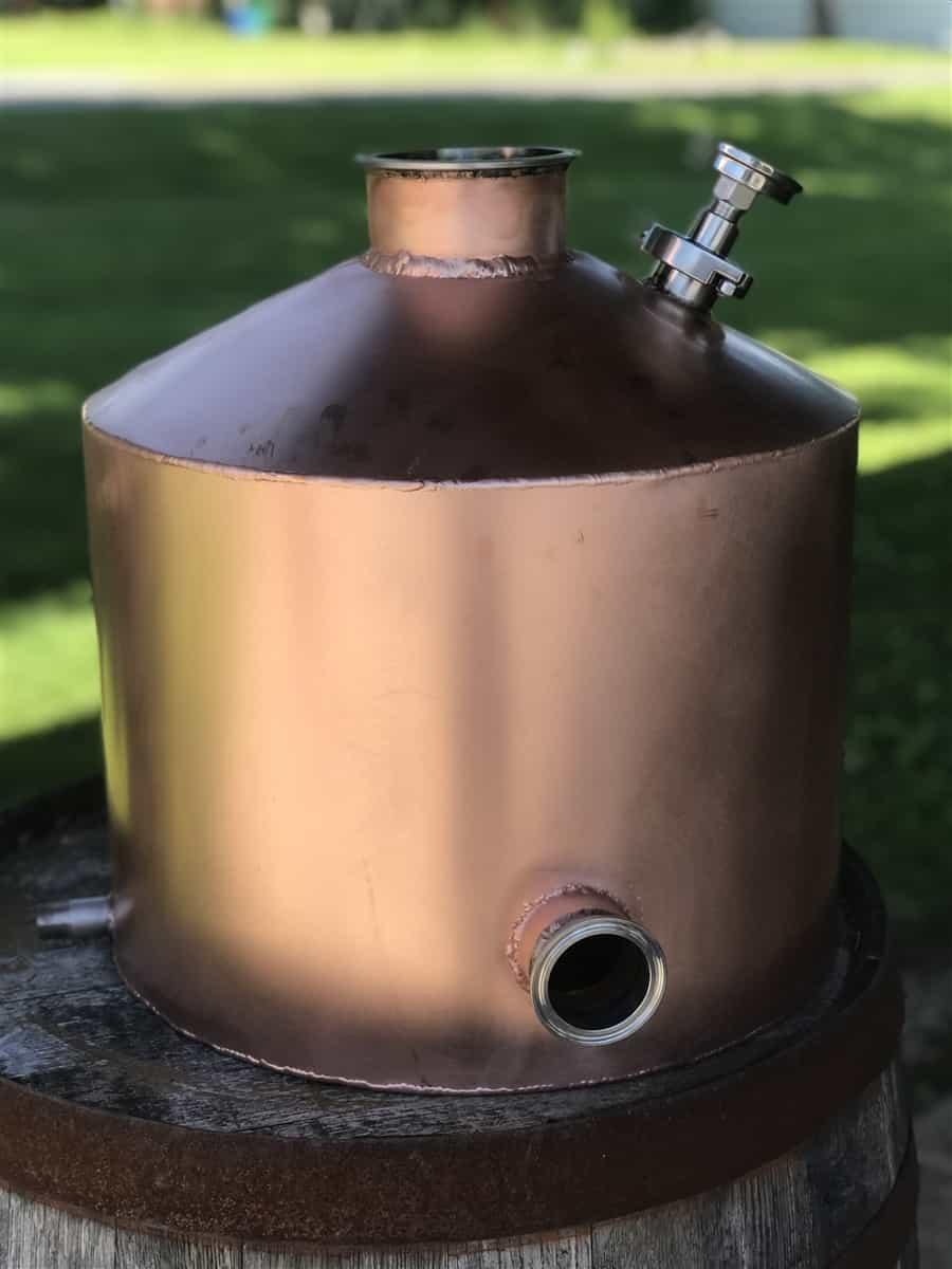 10 Gallon Copper Kettle