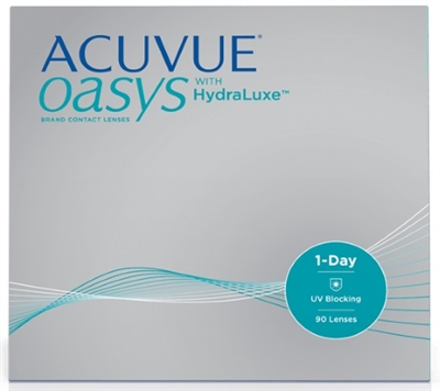 1-Day Acuvue Oasys with Hydraluxe (90 lenses)