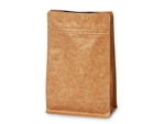 Kraft Coffee Bags with Degassing Valve, 25 pack