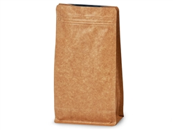 16 oz Kraft Coffee Bags with Degassing Valve, 25 pack