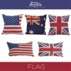 Flag Linen Cushion Cover
