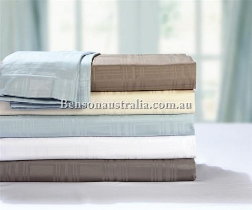 900 Carlton Pure Cotton Sateen Sheet Sets