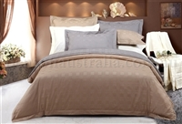 900TC Cotton Sateen Quilt Cover Set - Carlton