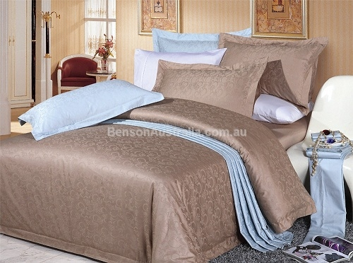 900TC Cotton Sateen Quilt Cover Set - Imperial : sateen quilt cover - Adamdwight.com